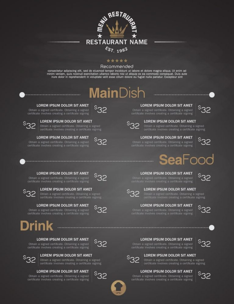 6 Best Menu Printing Ideas for Restaurants